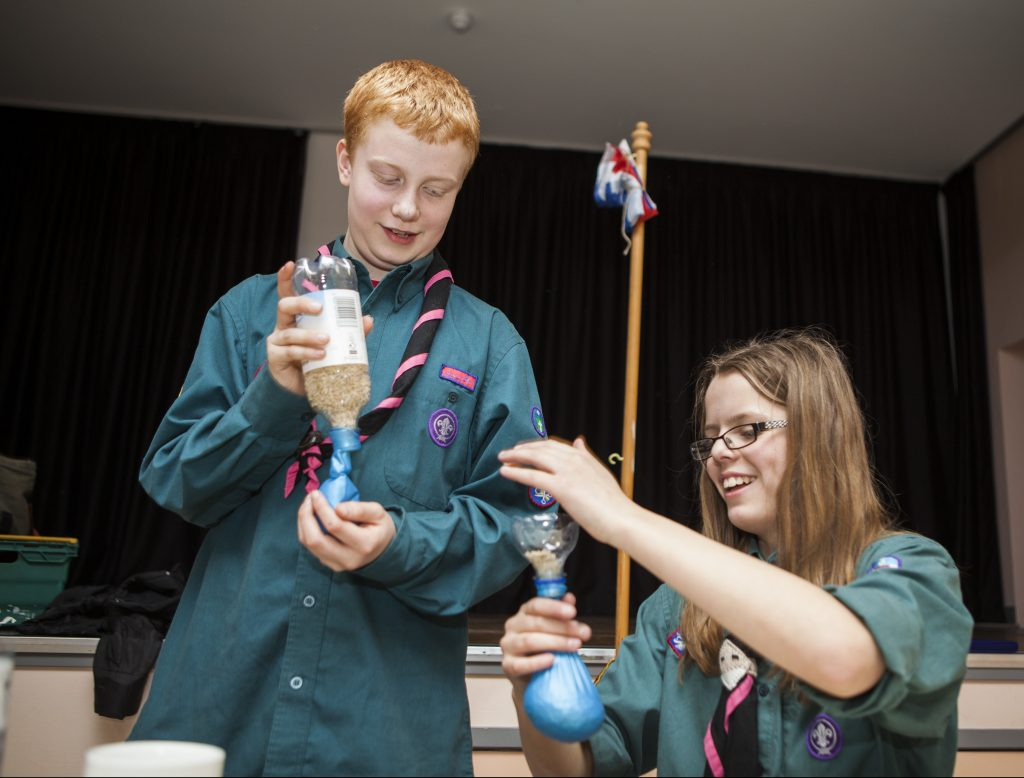 Two scouts experiment