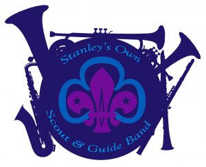 Stanley's Own Scout and Guide band logo