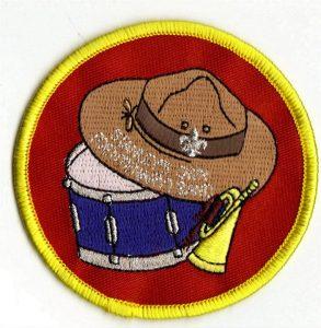 Centenary band emblem