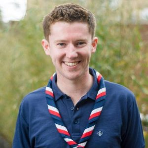 Ollie Wood, the UK Youth Commissioner