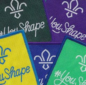 Youth Shaped scouting badges